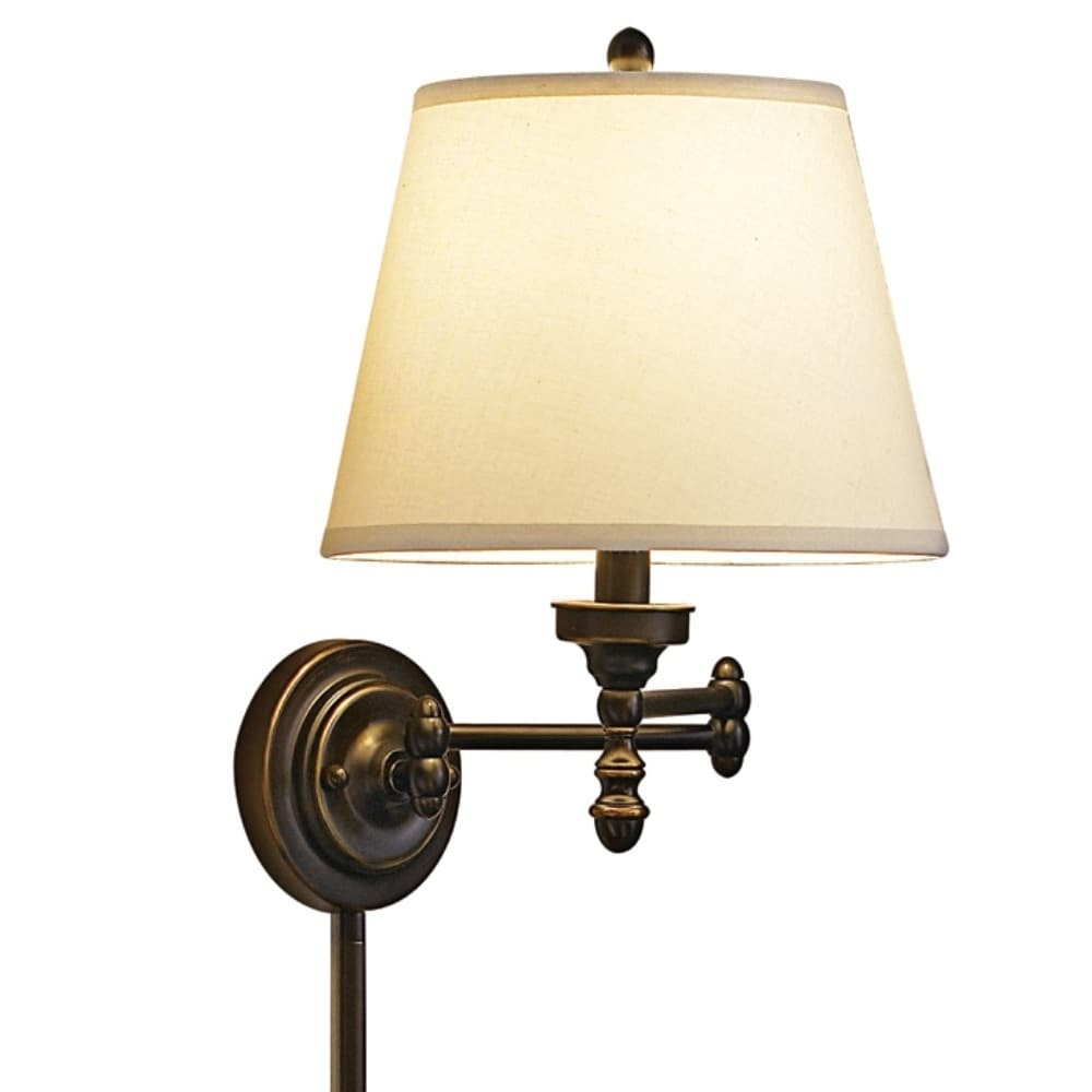 Aztec Lighting Traditional 1-light Pin-up, Plug-in Oil ... on Plugin Wall Sconce Lights id=62904