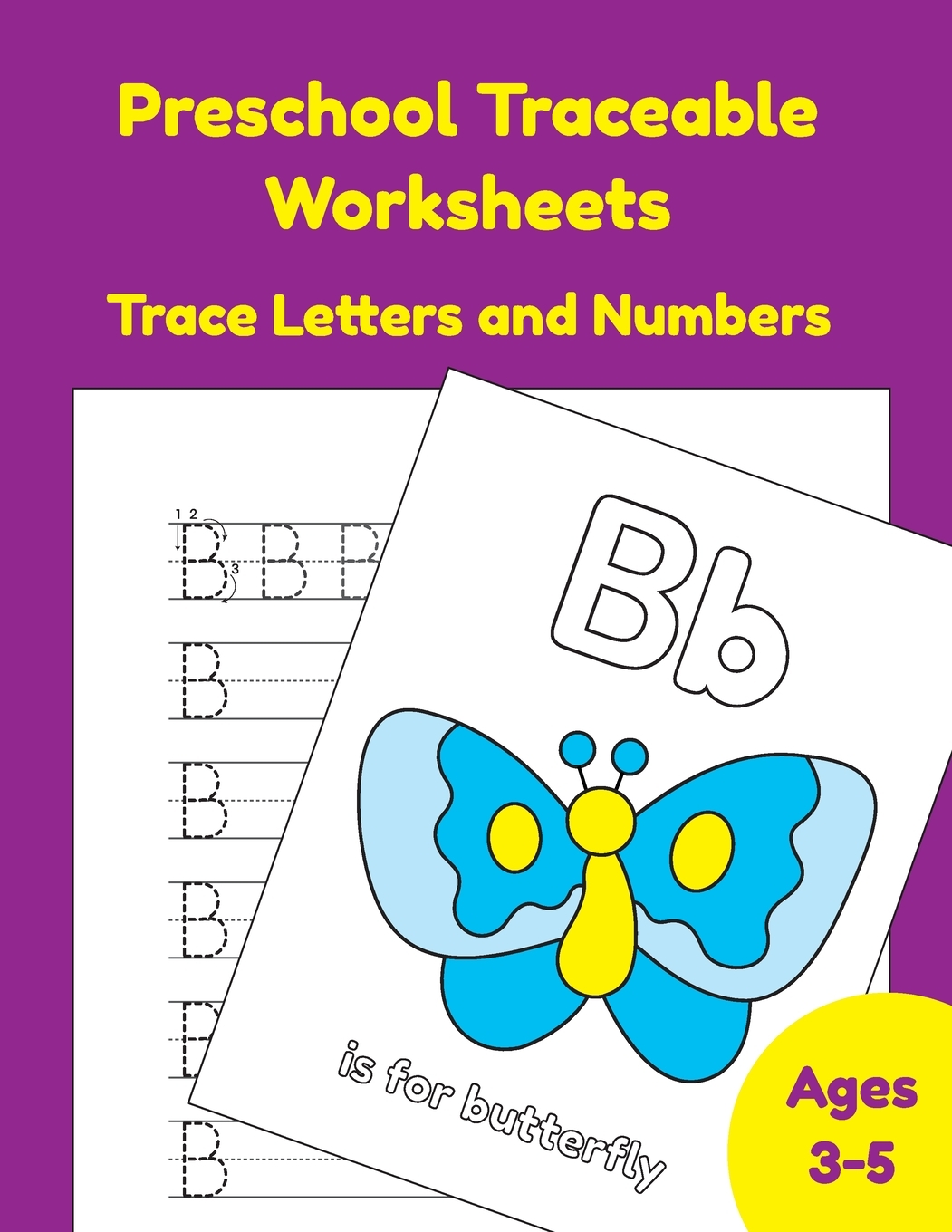 Preschool Traceable Worksheets Trace Letters And Numbers