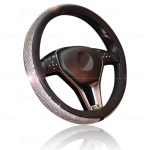Dodge Faux Leather Red Steering Wheel Cover Vehicle Parts Accessories Interior Styling