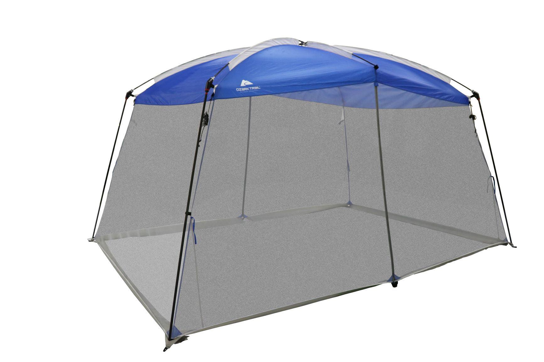 ozark trail 13 x 9 screen house with one large room blue walmart com