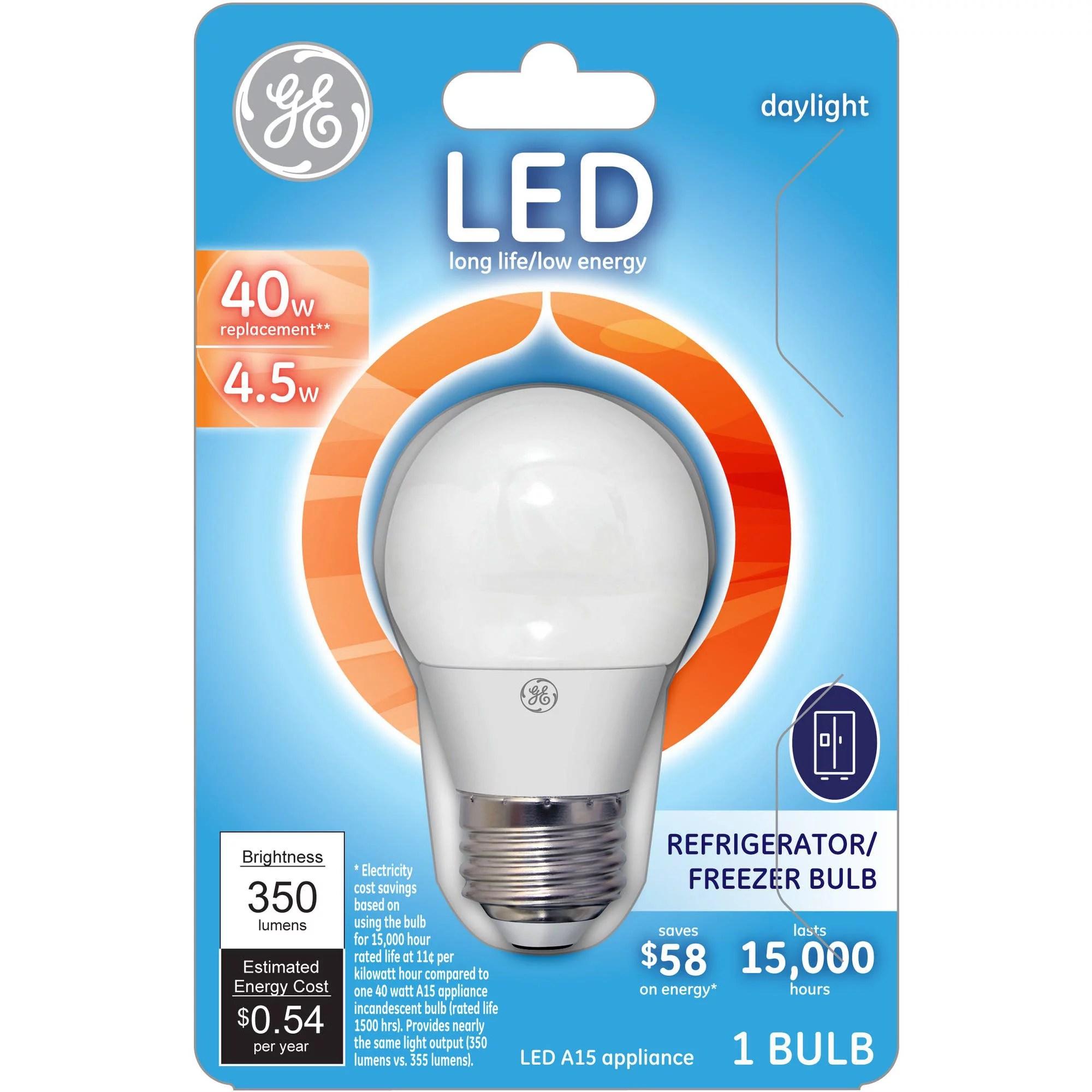 Refrigerator Light Bulb Led