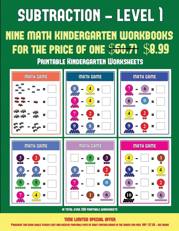 Printable Kindergarten Worksheets Kindergarten Su