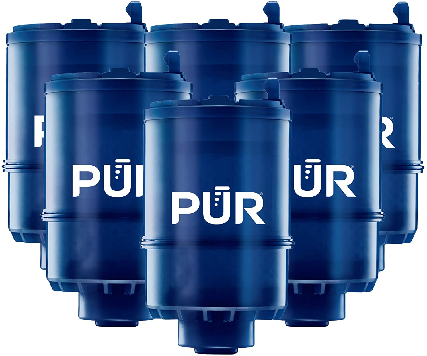 pur mineralclear faucet water filter replacement for filtration systems 6 pack 6 count