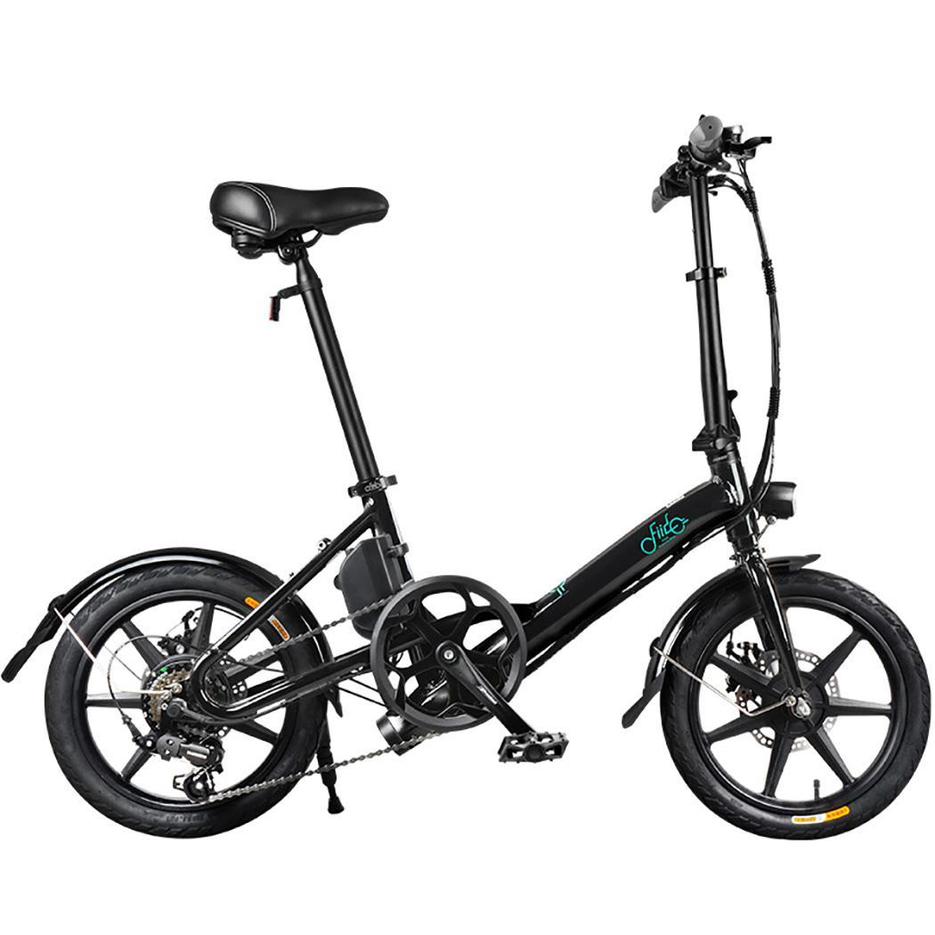 Fiido D3 Variable Speed Electric Folding Bike 7 8ah Large