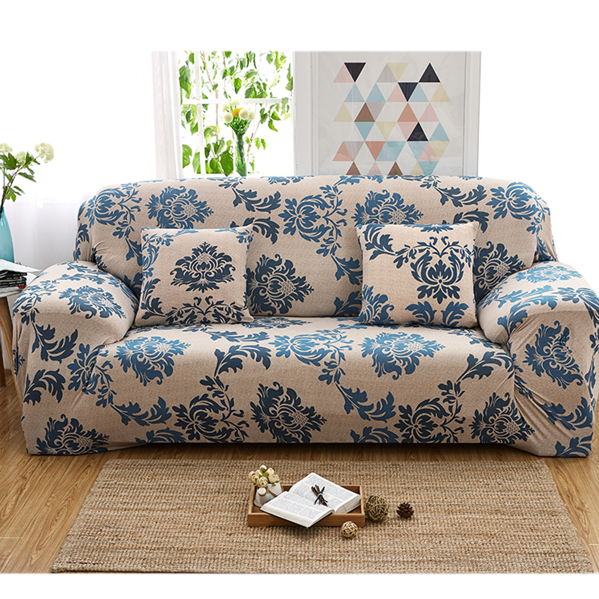 Anti Slip Sofa Cover For Leather Sofa Couch Cover Slip Resistant Couch Cover For Leather Sofa Sofa Covers For Living Room Walmart Com Walmart Com