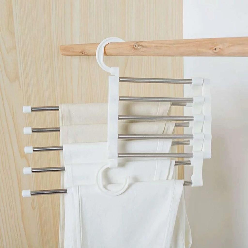 Muxika Closet Organizer Space Saver Clothing Rack Magic ... on Closet Space Savers Walmart  id=78609