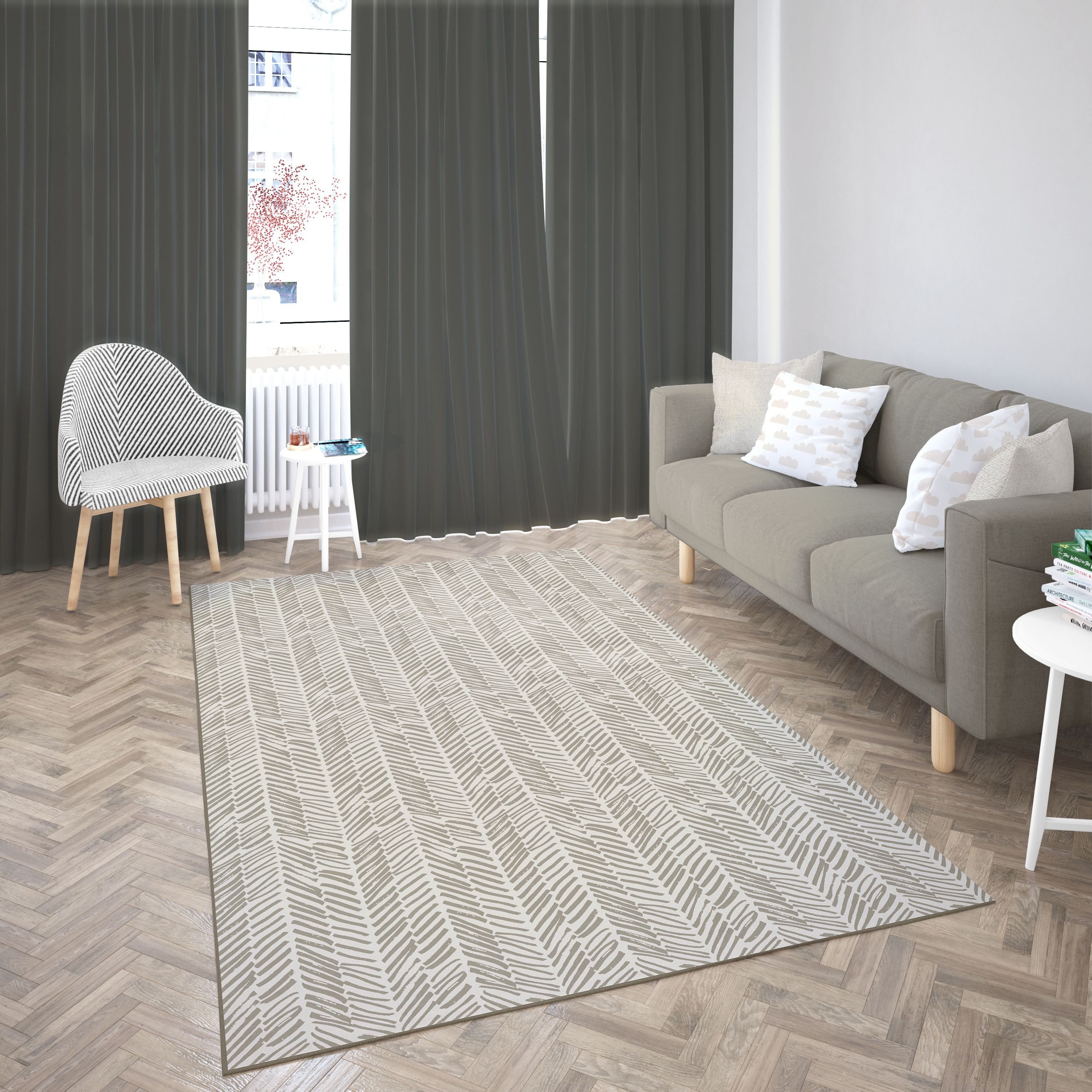 Area rugs look great and are often more practical than broadloom, but if you're going to use them there are a few things you need to keep in mind. Deerlux Modern Living Room Area Rug with Nonslip Backing ...