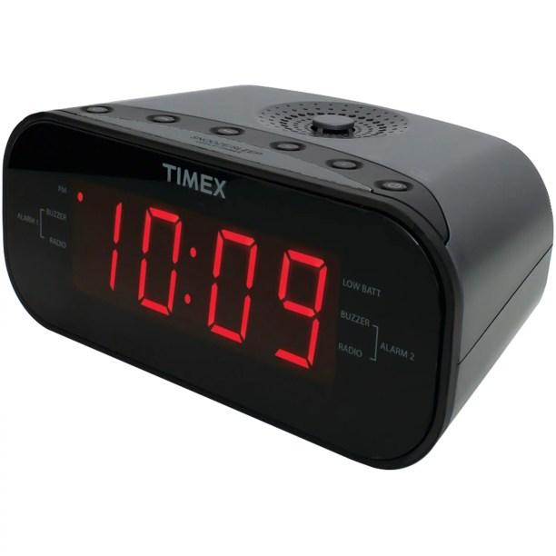 T231gry2 Am Fm Dual Alarm Clock Radio
