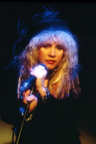stevie nicks cool iconic image in concert spotlight fleetwood mac 24x36 poster