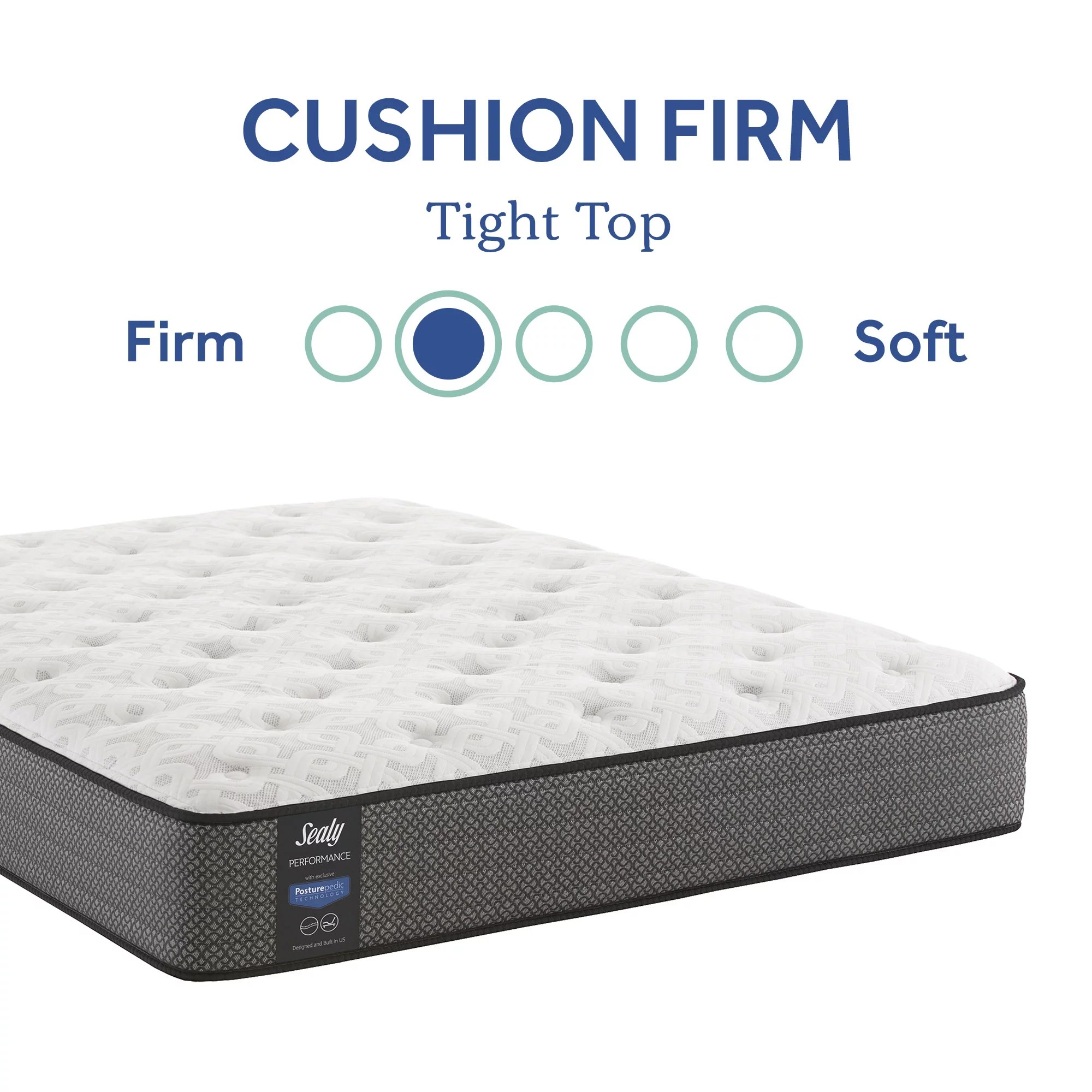 sealy response performance 12 cushion firm tight top innerspring mattress twin