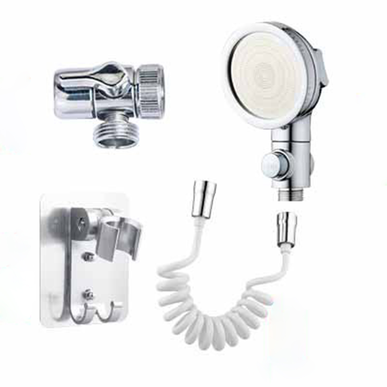 owsoo hand shower bathroom sink sprayer rinser set for hair washing 3 spray modes sink hose sprayer attachment with retractable 1 5m hose bracket for