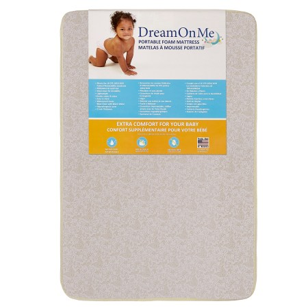 Dream On Me 3 Foam Carina Collection Pack N Play Mattress