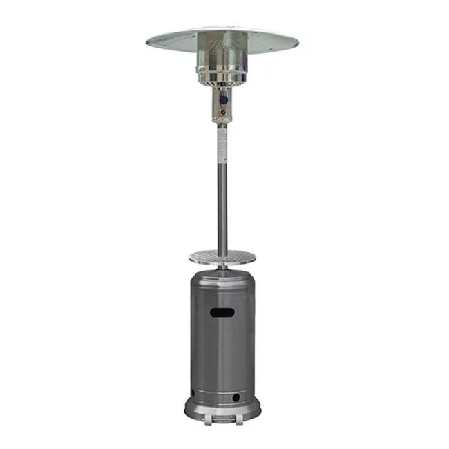 gardensun hss a dss 41000 btu outdoor stainless steel tall patio heater with door walmart com