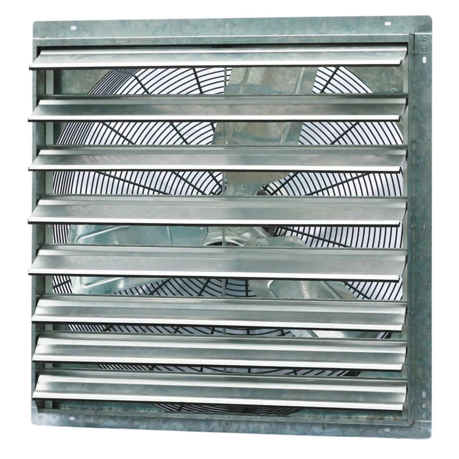 iliving 30 single speed shutter exhaust fan wall mounted walmart com
