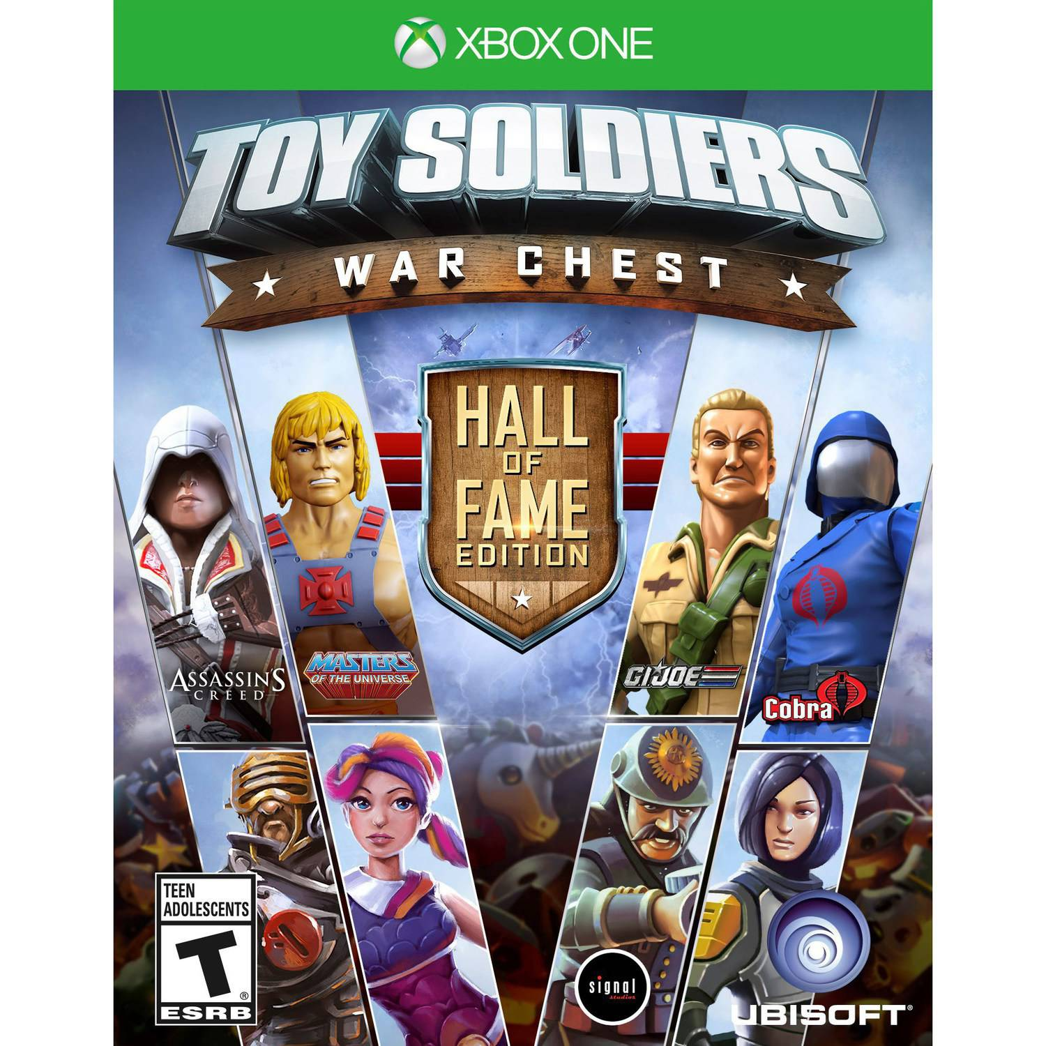 Toy Soldiers War Chest Hall Of Fame Edition Ubisoft Xbox One 887256001346