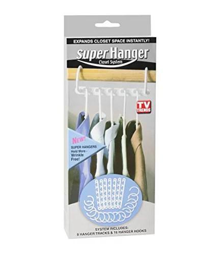 Super Hanger Closet System Closet Space Saver - Walmart.com on Closet Space Savers Walmart  id=55086