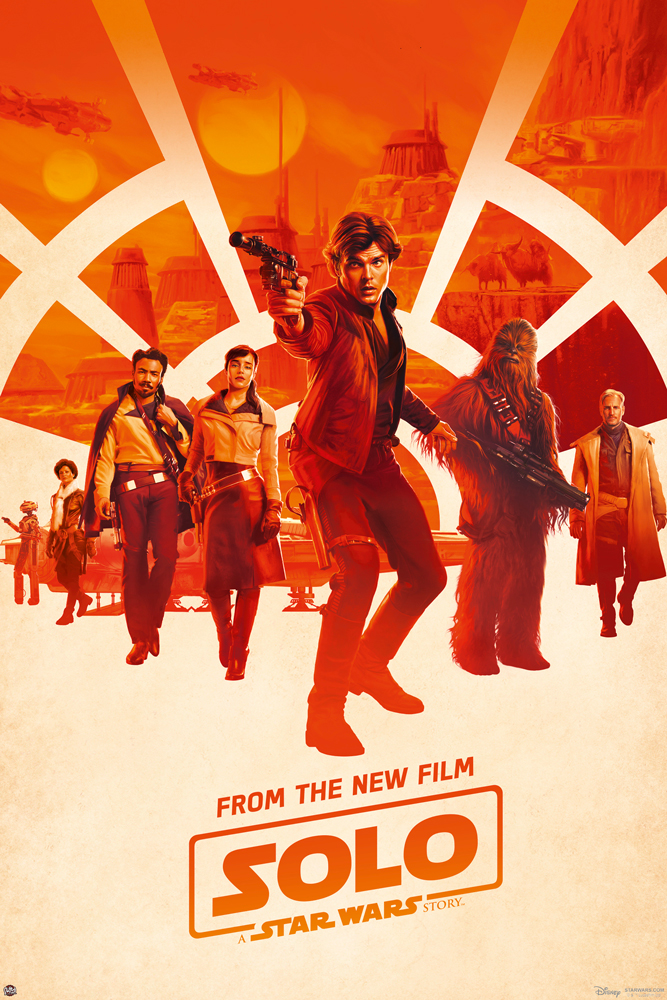 solo a star wars story movie poster print regular style size 24 x 36