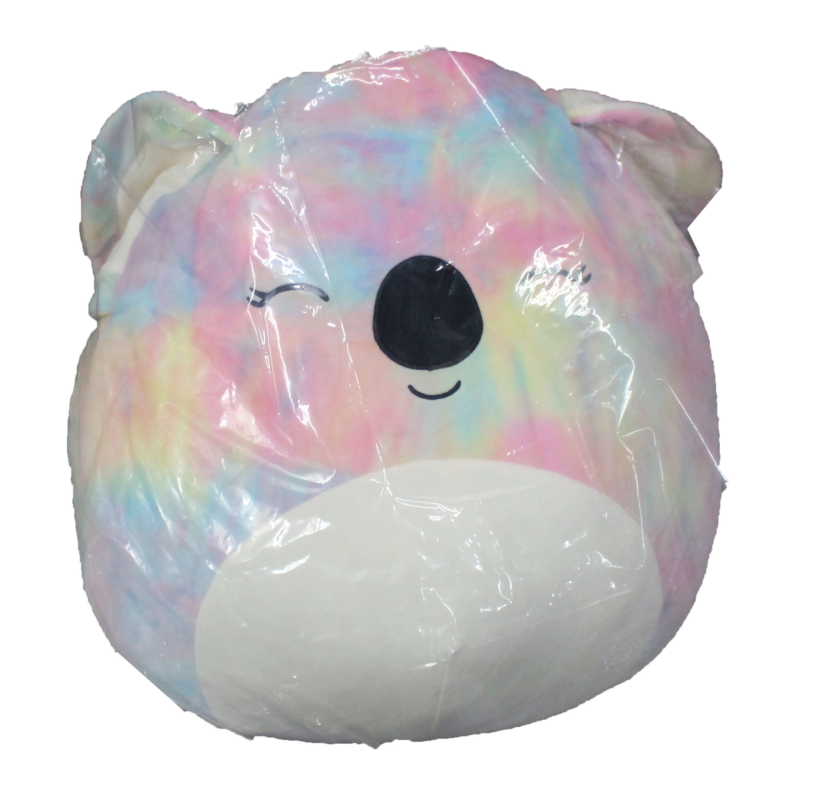 squishmallows by kellytoy 16 in tie dye koala katya plush pillow pet stuffed animal walmart com