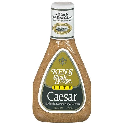 Ken39s Steak House Lite Caesar Dressing Marinade 16 oz