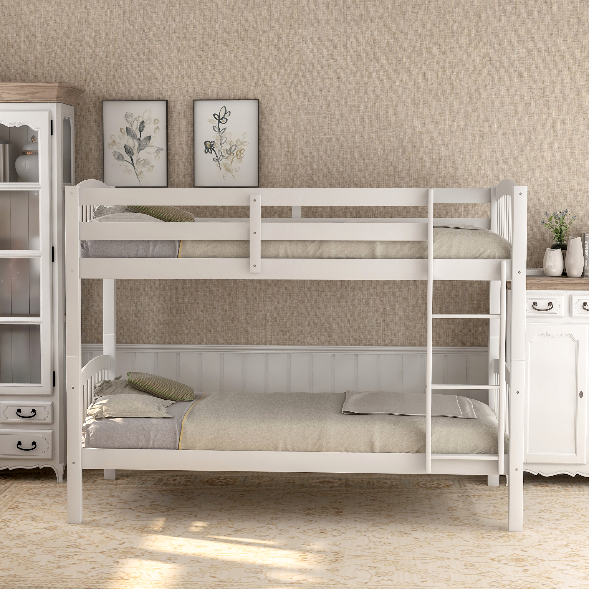 clearance kids bunk beds for boys girls twin over twin on walmart bedroom furniture clearance id=30760