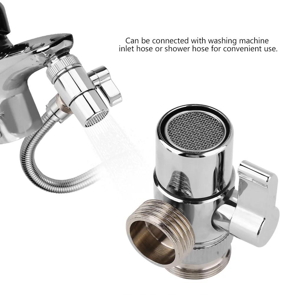 walfront bathroom kitchen basin sink faucet splitter diverter valve to hose adapter m24 faucet diverter valve sink faucet diverter