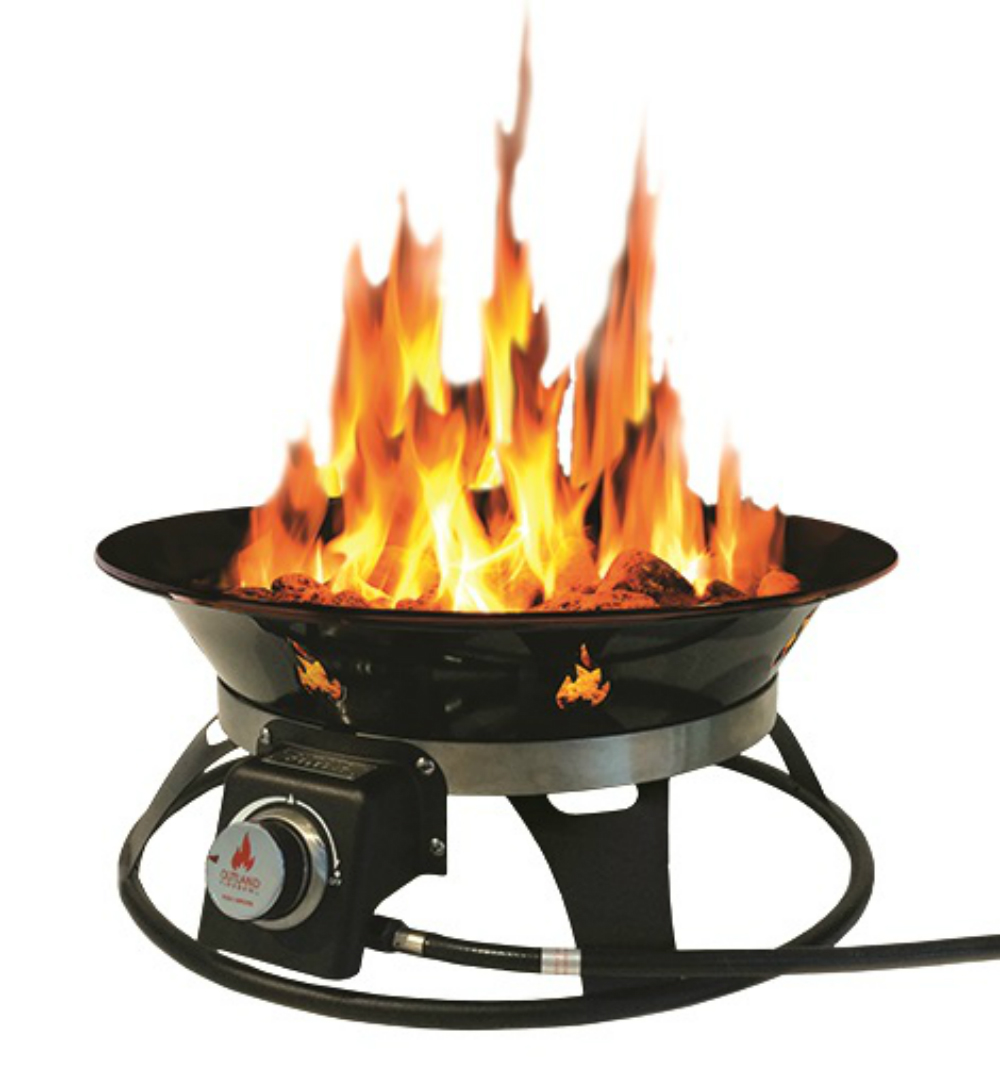 Outland Firebowl Cypress 21. Steel Portable Propane Fire ... on Outland Living Cypress Fire Pit id=17739