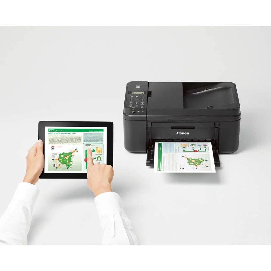 Printer Fax Machine Canon Pixma Mx490 Wireless Office All
