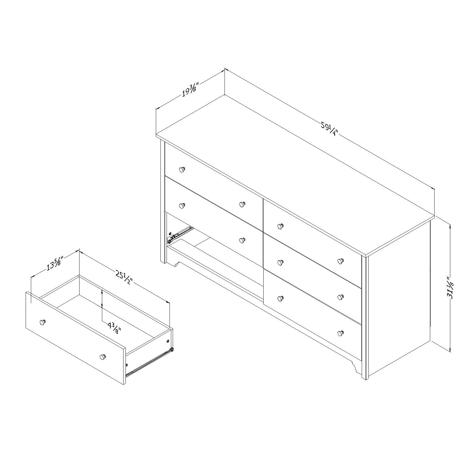 Metal Dressers