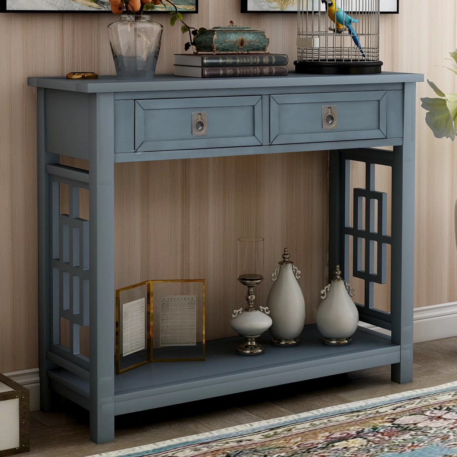 console tables with drawers btmway wood entrance console table for entryway farmhouse entryway foyer accent table rustic narrow hallway sofa couch