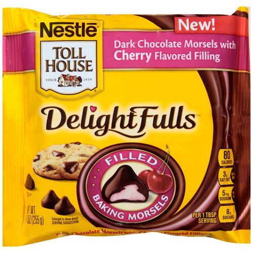 Nestle Toll House DelightFulls Dark Chocolate with Cherry