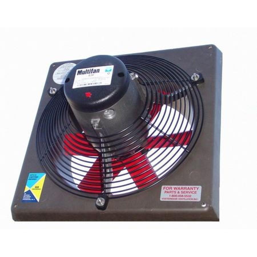 multifan 4d45 k 460v exhaust fan 18 in 230 460v 3ph