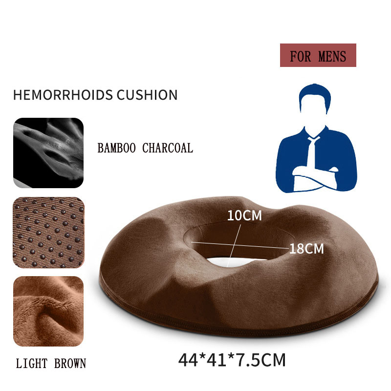 hemorrhoid treatment donut tailbone cushion for hemorrhoids prostate cushion pregnancy cushion comfort foam hemorrhoid pillow