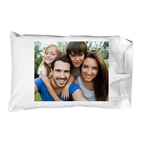 personal personalized add your photo pillowcase pillow case custom customizable gift