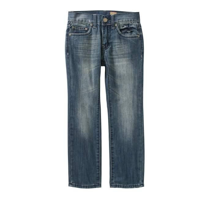 Tokyo Five Boys' Straight Leg Fashion Denim With Embellished Back Pockets