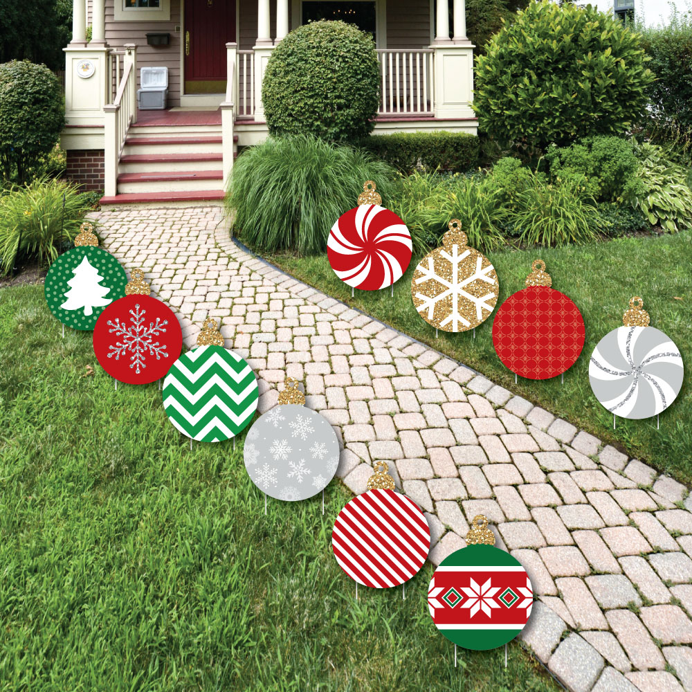 Ornaments Lawn Decorations - Outdoor Holiday and Christmas ... on Lawn Decorating Ideas id=51895
