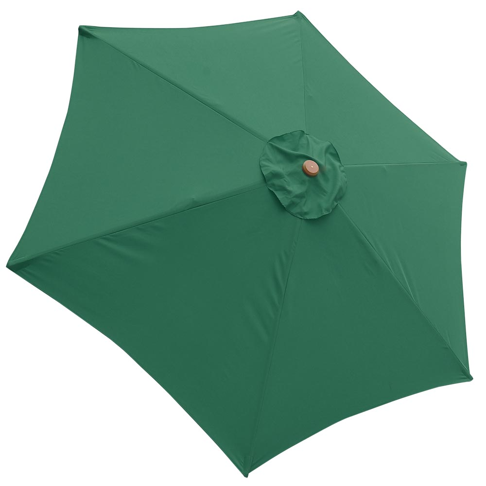 9 patio umbrella replacement canopy 6 rib outdoor yard deck cover top