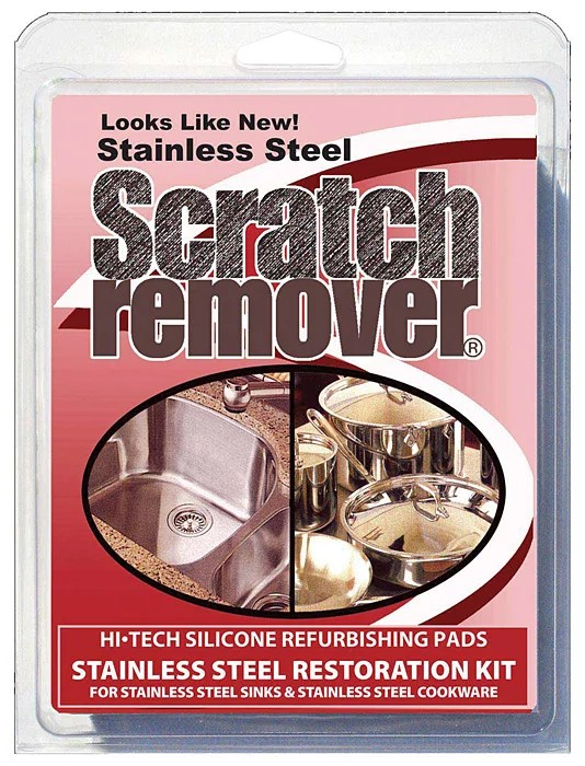 siege scratch remover pads for stainless steel sinks cookware restoration kit
