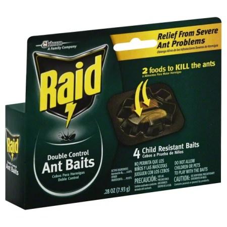Raid Ant Baits Iii 4 Pack