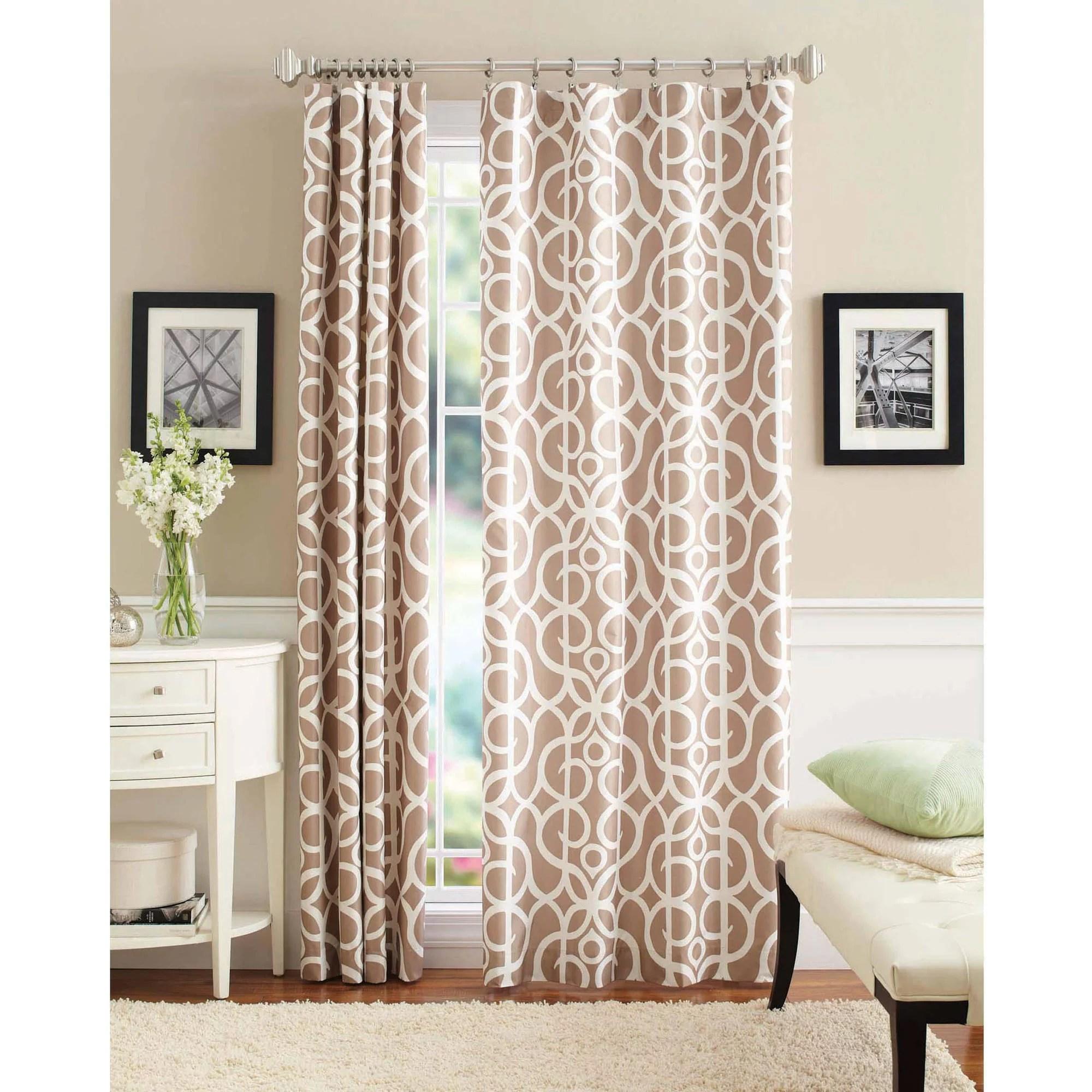 better homes gardens marissa curtain panel