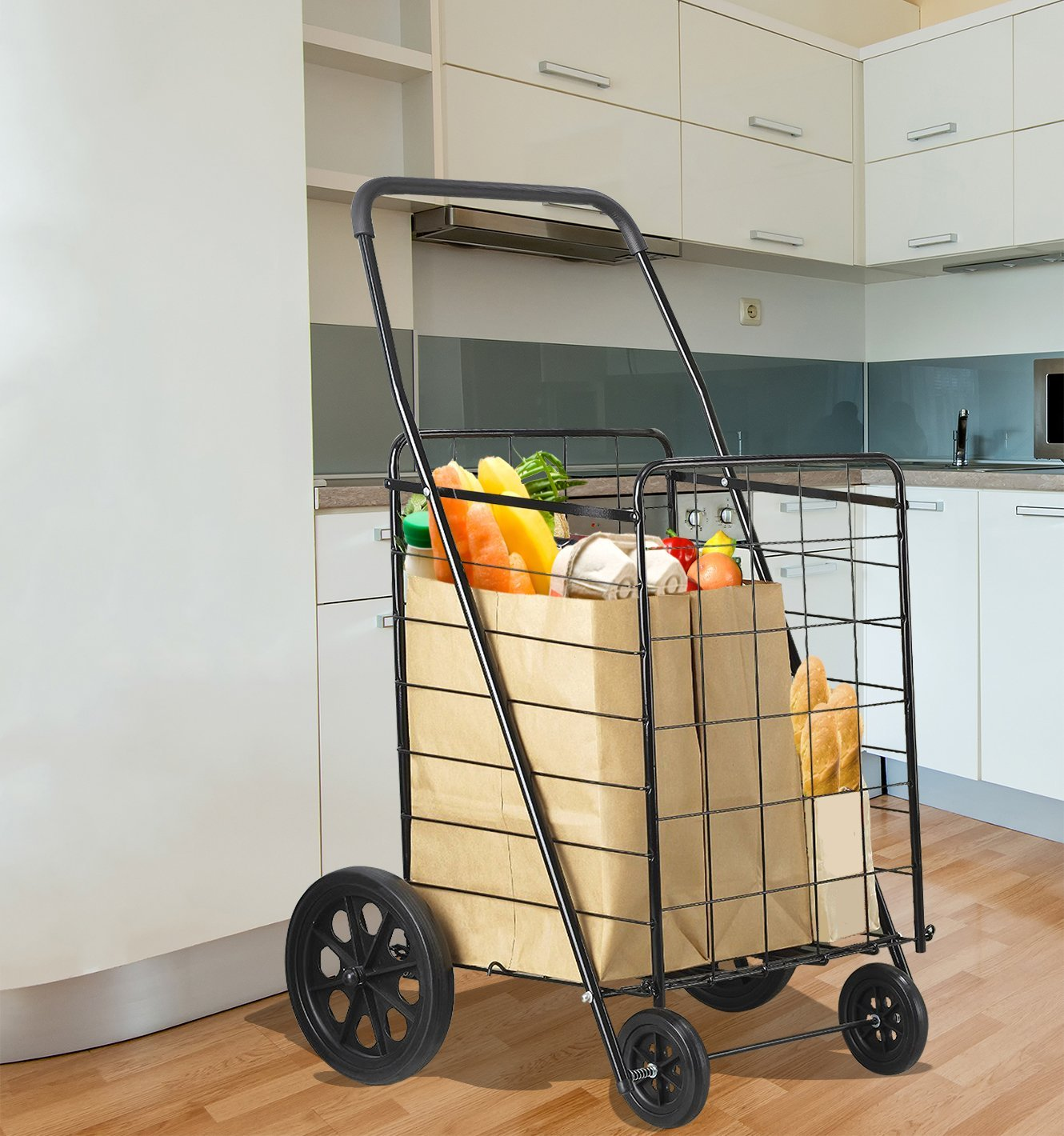 Extra Large Folding Grocery Cart