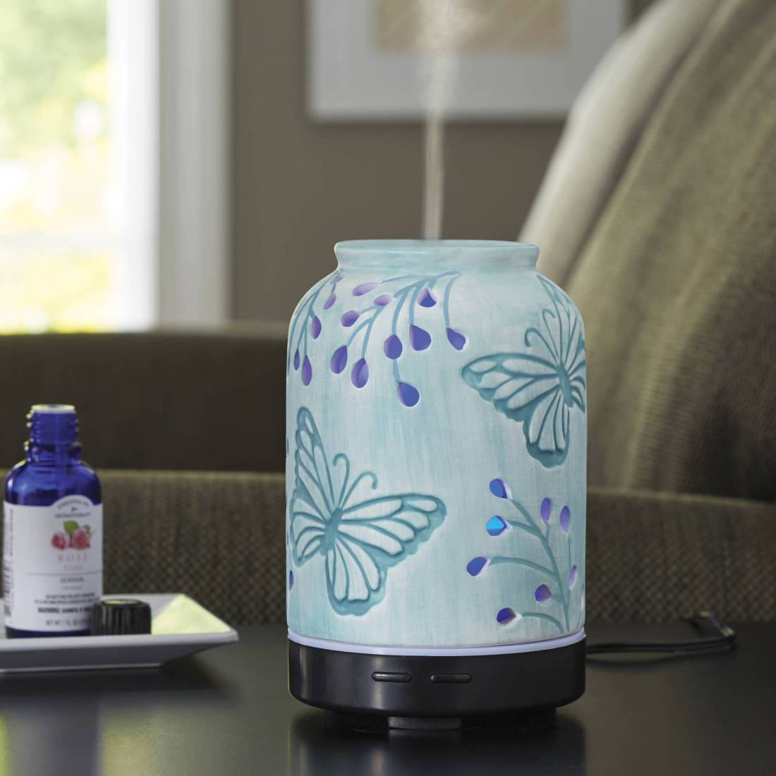 Better Homes & Gardens Tranquil Butterfly Essential Oil Diffuser