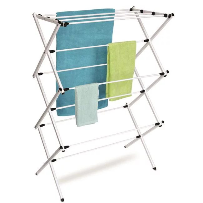 42 x 14 x 29 43 in metal clothes drying rack