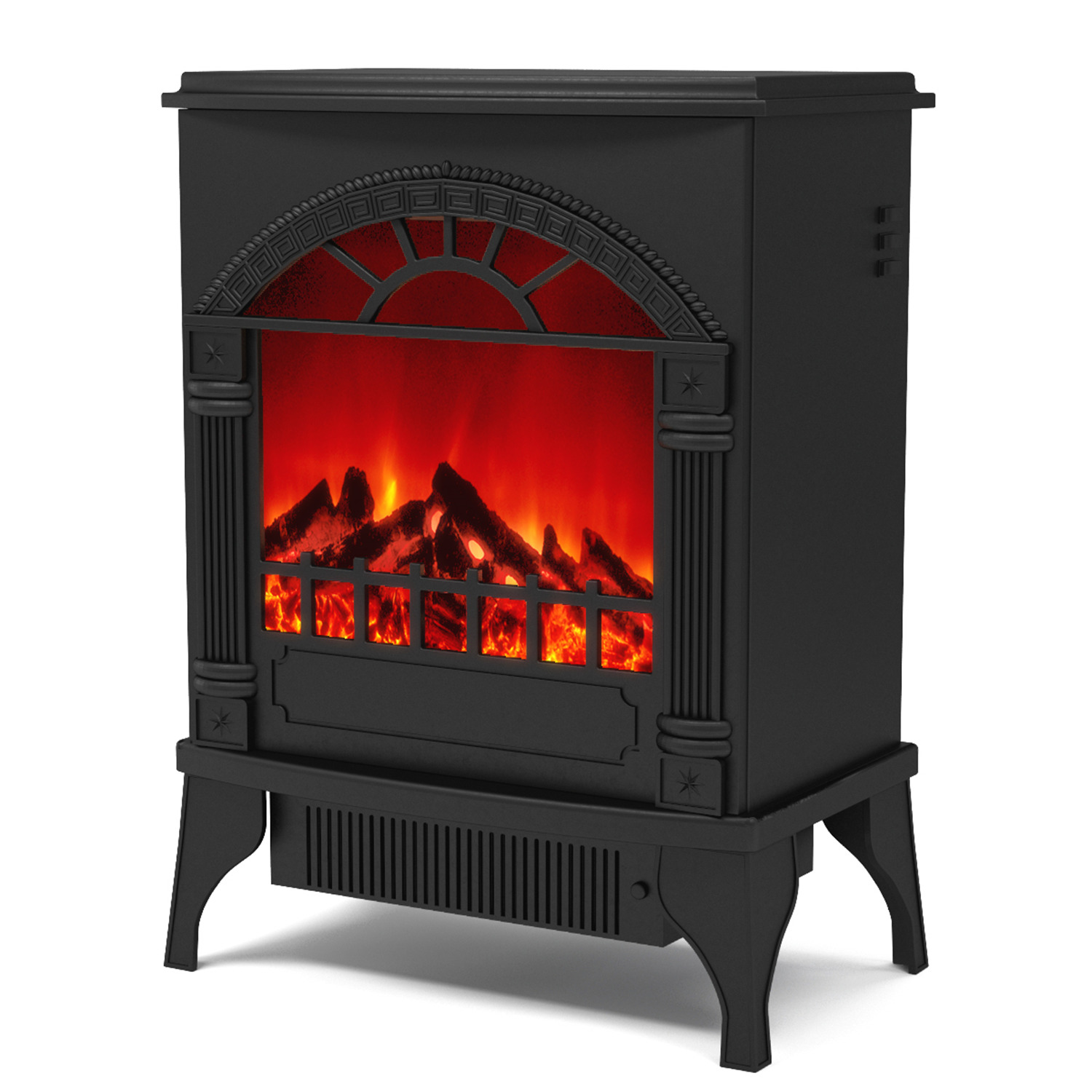 gibson living apollo electric fireplace free standing portable space heater stove better than wood fireplaces gas logs wall mounted log sets gas
