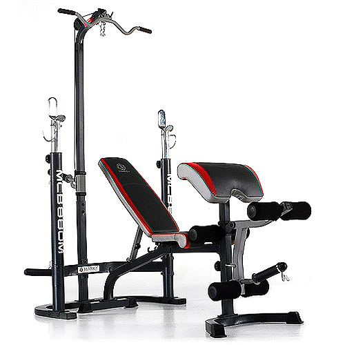 Marcy Classic Midsize Bench With Lat Bar Walmart Com