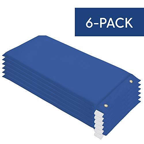 softscape hanging rest mat daycare and preschool nap mats 6 pack blue