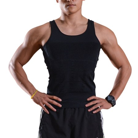 المشكل الجسم للرجال للرجال التخسيس قميص الخصر البطن فقدان الوزن الحجم: L / M / XL 35015241 19a4 415d bc4d 424694db161f 1