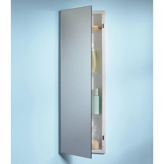 jensen medicine cabinet pillar 12w x 36h in. recessed medicine