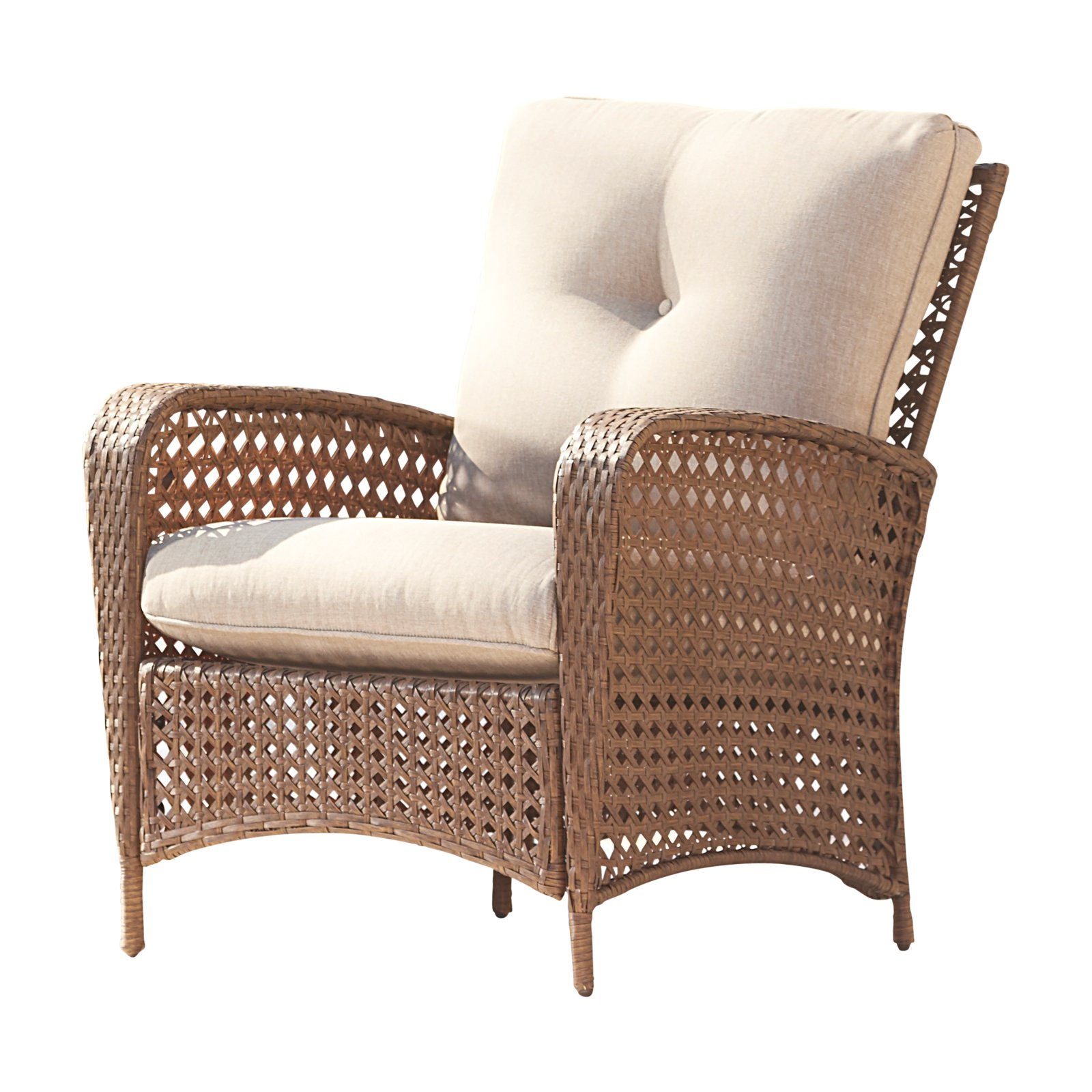 Cosco Outdoor Living Lakewood Ranch Woven Wicker Lounge ... on Outdoor Living Wicker  id=26737