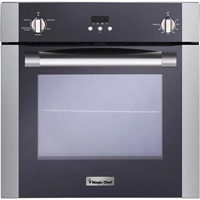 magic chef 24 electric wall oven with convection walmart com