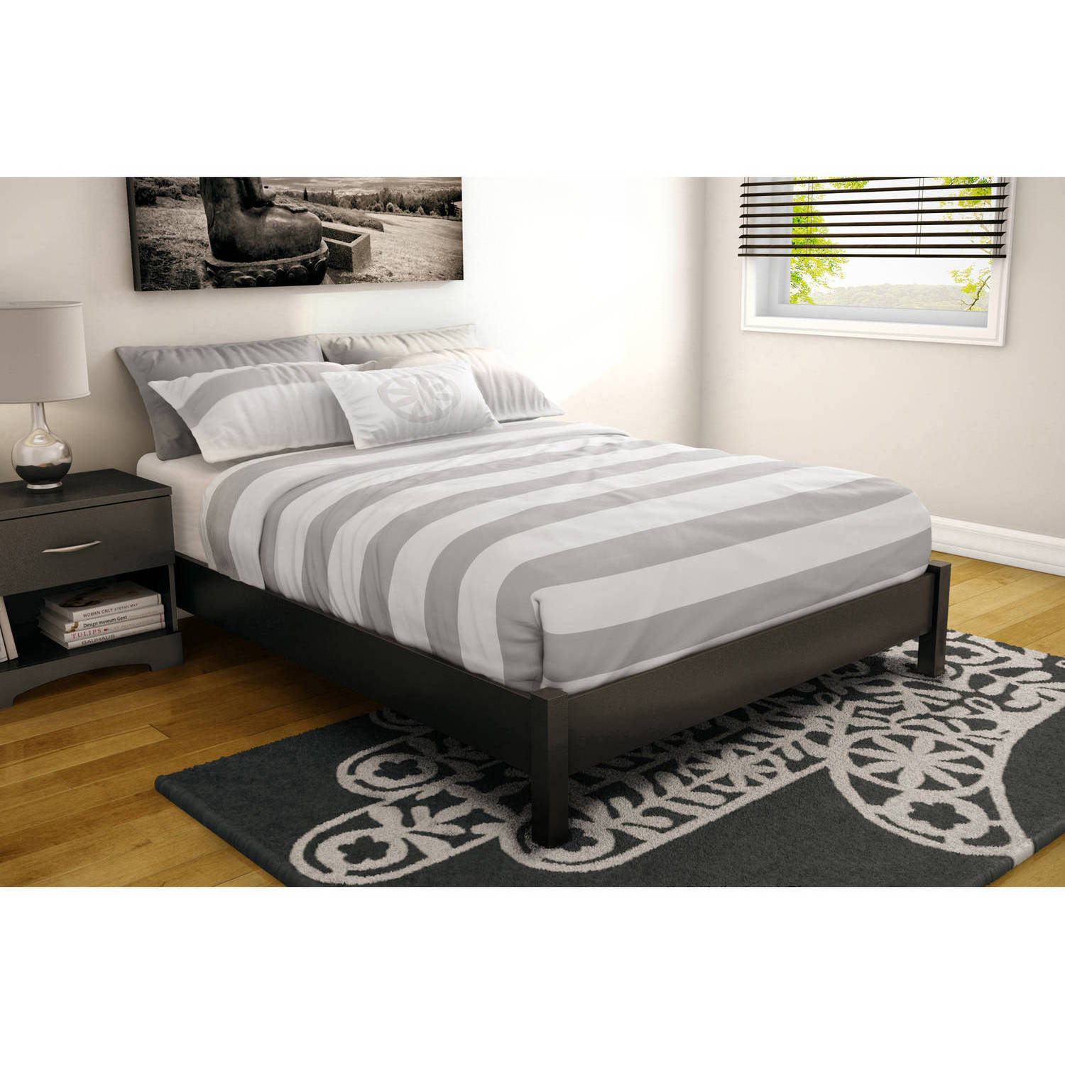 Full Size Beds With Storage Walmart Com